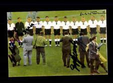 Deutschland Argentinien WM 1958 Foto 6x Original Signiert +A 150738