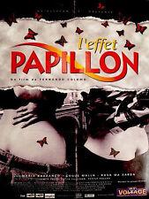 Affiche 40x60cm L'EFFET PAPILLON (EL EFECTO MARIPOSA) 1995 Colomo NEUVE