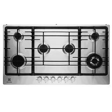 Electrolux EGG9363NOX Six Zone 90cm St'Steel Integrated Gas Hob