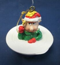 Rare Tupperware Remarkabowl Elf Holiday Ornament Consultant Awards