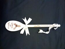 Hand designed wooden spoon.Your 1st Christmas together. Gift.Holly design.