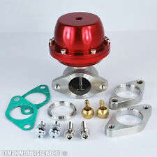 Performance 38mm Red External Turbo Wastegate Motorsport Drag Drift Rally New