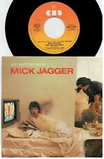 MICK JAGGER ROLLING STONES Just another night 45rpm 7' + PS 1985 ITALY MINT-