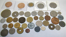 MIXED LOT OF FOREIGN WORLD COINS CENTAVOS PRINCE OF WALES BRASIL FRANC MECXICO