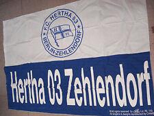 Fahne Hertha 03 Zehlendorf Berlin 90 x 150 cm Baumwolle Fanartikel
