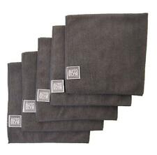 AUTOGLYM Microfibre Polishing Cloth Grey (5)  High Quality Cleaning Waxing Towel