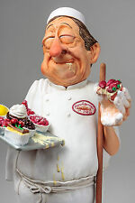 """Large Guillermo Forchino's The Baker Comic Statue Sculpture 16"""" Tall Figurine"""