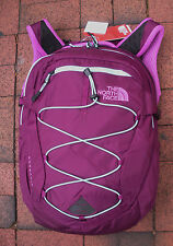 THE NORTH FACE WOMENS BOREALIS BACKPACK- DAYPACK- # CHK3- P PURPLE/ BONNIE BLUE