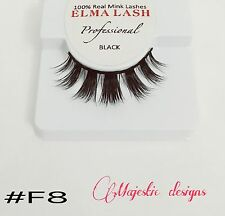3D Real Mink Eyelashes Makeup Thick Black Eye Lashes #F8