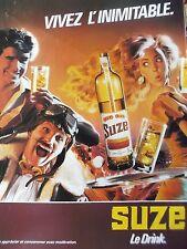 publicité de presse SUZE     en 1985  ref. 21544