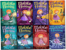 Holly Webb Maisie Hitchins Series Collection 8 Books Set Weeping Mermaid, Tunnel