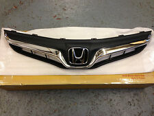 GENUINE HONDA JAZZ CHROME FRONT SPORTS GRILLE 2012  GENUINE HONDA ACCESSORY
