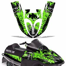 Sled Graphic Kit Arctic Cat SnoPro 120 Sno Pro Snowmobile Wrap Decal REAP GREEN