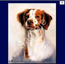 "BRITTANY SPANIEL - Decorative/Refrigerator Magnet by Maystead / 2"" x"