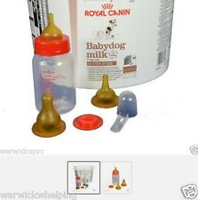 Royal canin 2KG bébé chien chiot lait & kit feeding bottle set stylo sans