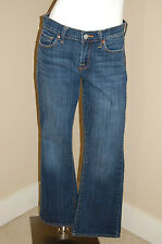 LUCKY Brand Sofia Boot Ankle Jeans~Size 8/29