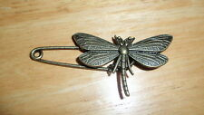 vintage Dragonfly pin brooch scarf shawl belt buckle