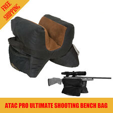 Atac Pro Ultimate Unfilled Shooter's Gun Rest Sand Bag Shooting Bench Steady