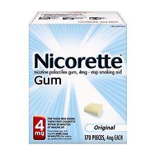Nicorette Gum 4 mg Original 170 Each