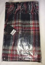 Forever 21 Red Navy Blue Scarf Nice New With Tags One Size
