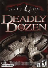 DEADLY DOZEN Original WWII Action PC Game NEW in BOX XP