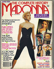 MADONNA Super Teen Complete History Magazine 92 82 PGS