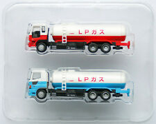 "Tomytec The Truck Collection ""2 Truck Set D"" (Tank Lorry) 1/150 N scale"