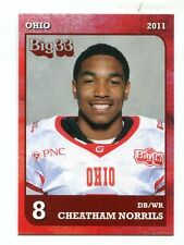 CHEATHAM NORRILS 2011 Ohio Big 33 High School card TOLEDO Steelers CB
