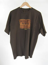 Hard Rock Cafe Denver T-Shirt All Is One Brown Crewneck 1971 Classic Size XL