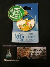 Disney Parks Mickey's Very Merry Christmas Party 2014 Pluto Chip Dale pin
