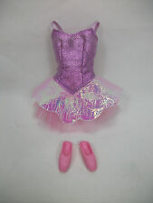 Barbie Pink Ballerina Outfit Only w/ Crown, Shoes  VHTF Great Gift! B24,1.4