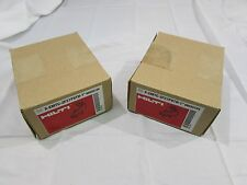 "HILTI X-EMTC-ZF27P8TH-1""/00335124 CONDUIT CLIPS 1"" 100 EACH (2 BOXES OF 50)*NIB"