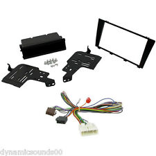 Car CD Stereo Facia Adaptor & Amp Bypass ISO Lead Harness For Lexus IS200 IS300