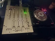 Numark V7 twin deck and vestax Pmc270A mixer,serato set up