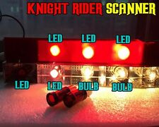 8x RED 1157 LED Bulbs for KNIGHT RIDER SCANNER Bar