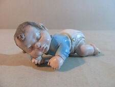 Figur Skulptur Original A. Lucchesi Baby Keramik Keramikfigur Handarbeit top!