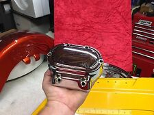 Harley Touring Softail Dyna OEM 5-Speed Transmission Cover Chrome 37082-99