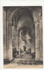 Caen Eglise de la Trinite France Vintage Postcard 294a