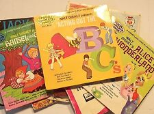 BULK 9 CHILDRENS SINGLES AND EP 'S, V/GOOD TO EXCELLENT