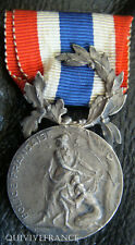 DEC3030 - MEDAILLE POLICE FRANCAISE - ARGENT - FRENCH MEDAL
