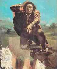 Gustave Courbet The Desperate Man The Man Made By Fear 5 A4 Print