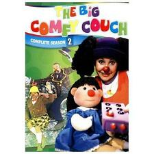 The Big Comfy Couch Complete Series! Seasons 1,2,3,4,5,6 & 7! Brand New! 100 DVD