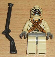 Lego Star Wars Tusken Raider (Sandmensch) mit Waffe