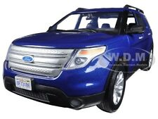 2015 FORD EXPLORER XLT BLUE 1/18 DIECAST MODEL BY MOTORMAX 73186