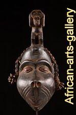 55657 Rare Singes Casque masque le Bulu Côte d'ivoire Afrique