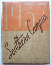 SCARCE Copy SOUTHERN CAMPUS 1937 U.C.L.A. YEARBOOK