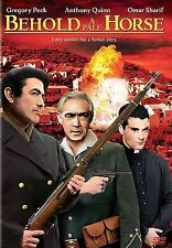 Behold a Pale Horse (DVD, 2005) Gregory Peck, Anthony Quinn, Omar Shariff