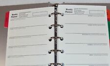 Aluminum Day Planner/Scheduler ~ Track Expenses, Projects, Goals, Contacts #Z805