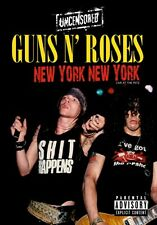 GUNS N' ROSES  -  UNCENSORED - LIVE AT THE RITZ - NEW YORK NEW YORK DVD