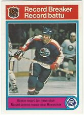 1982-83 OPC HOCKEY #3 DALE HAWERCHUK RECORD BREAKER - EXCELLENT-
